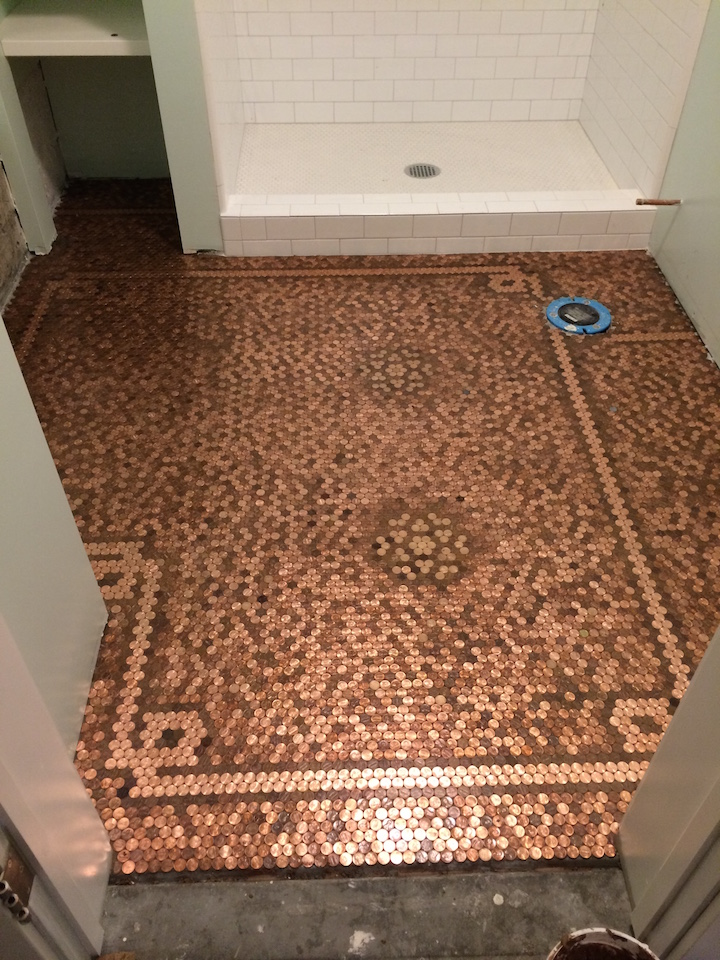 Penny Floor Gallery Pretty Purple Door