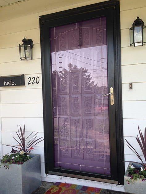 Paint Your Front Door My Pretty Purple Door Pretty