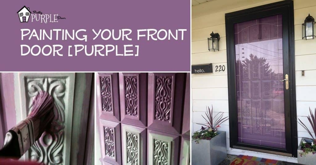 Paint Your Front Door, PrettyPurpleDoor.com