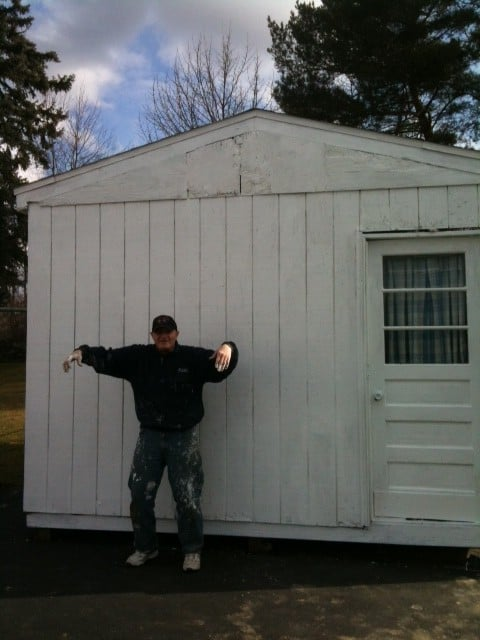 """""""The Day the Eagle Died"""" – Fixing the Shed"""