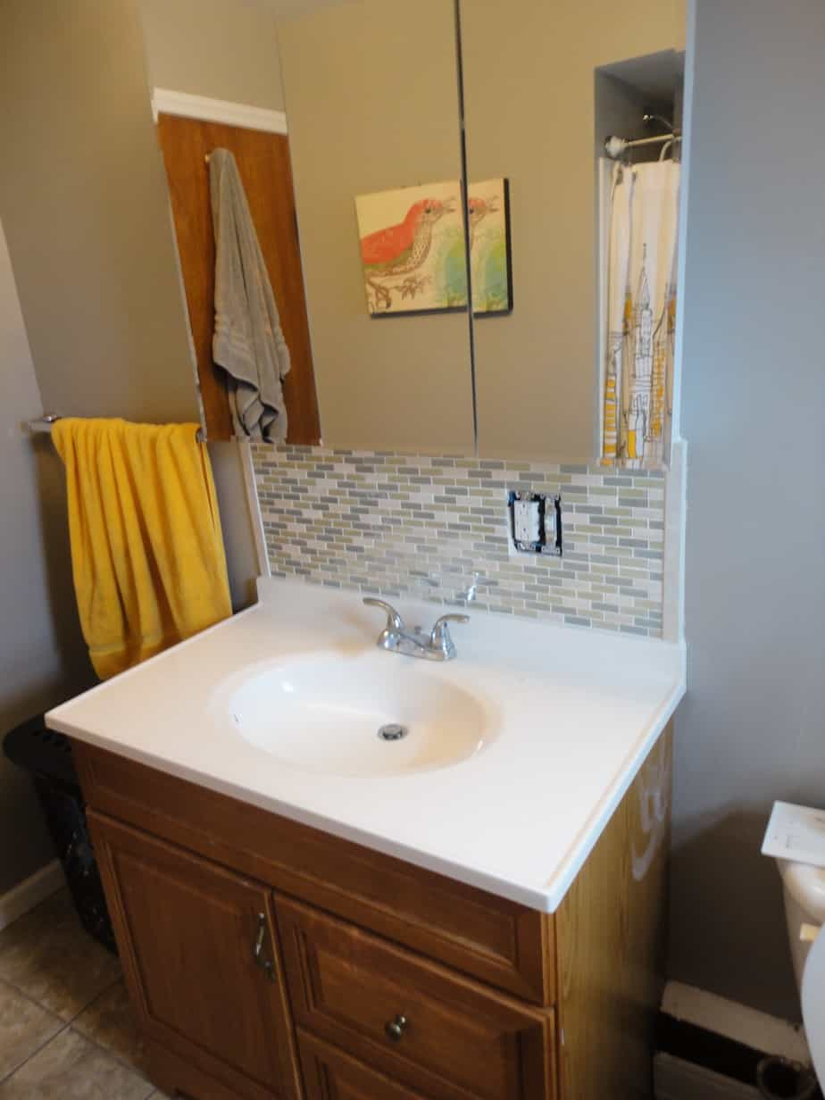 Install Bathroom Vanity Over Tile - Vanity Ideas