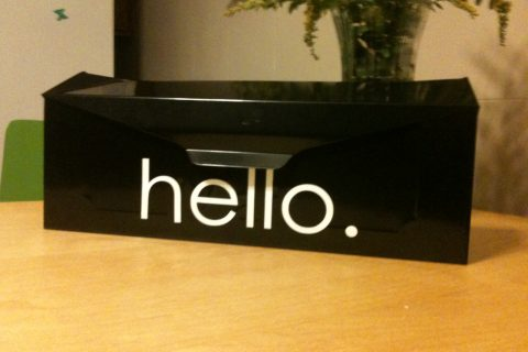 "Welcome guests with a simple ""hello""."