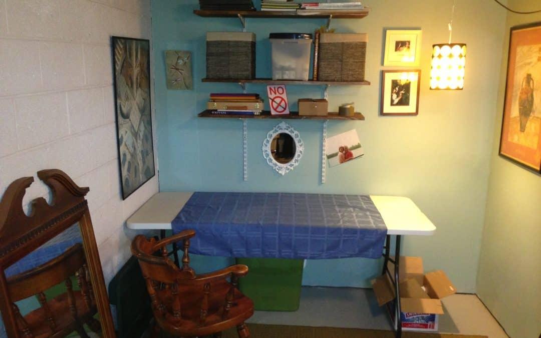 Roxy's Room Turned Art Studio