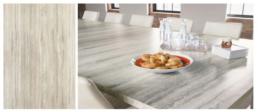 Formica 180FX: Travertine Silver