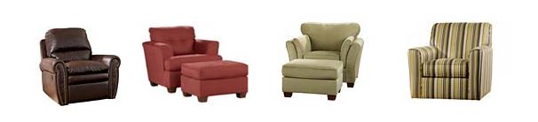 4 comfy chair furniture options