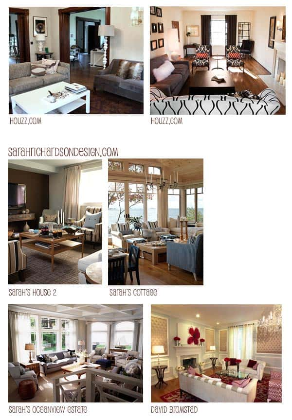 Sarah Richardson interior design portfolio examples