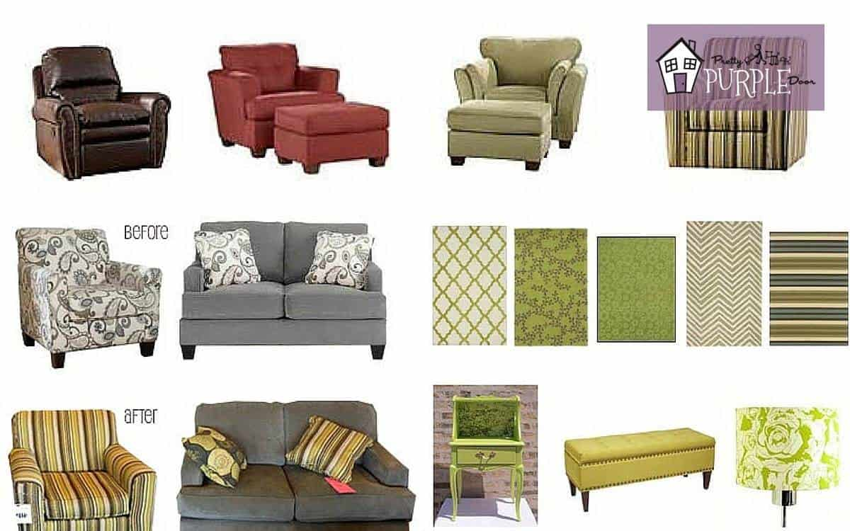 How to mix and match furniture, PrettyPurpleDoor.com