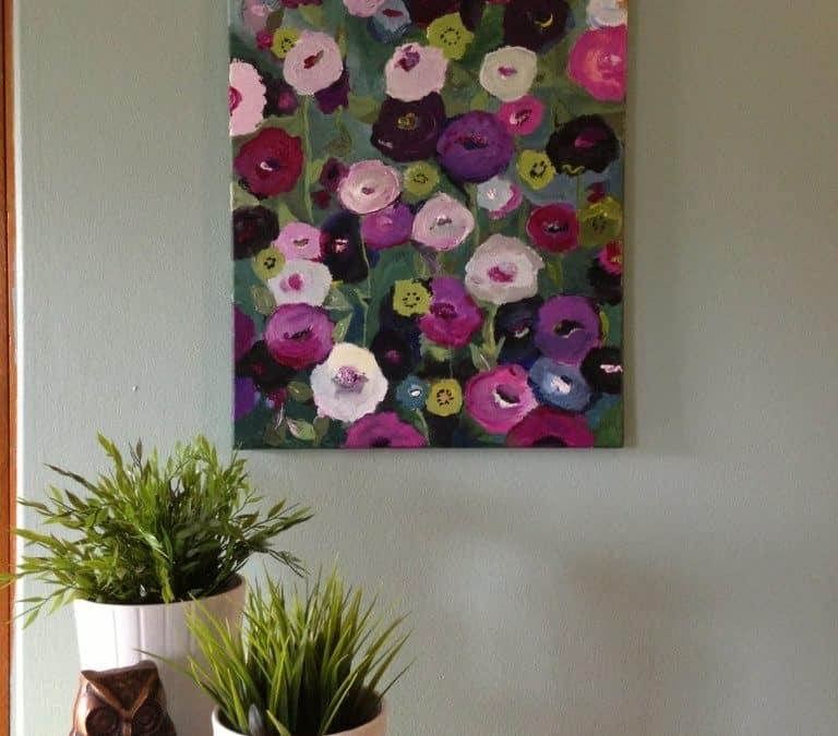 My DIY artwork house tour.