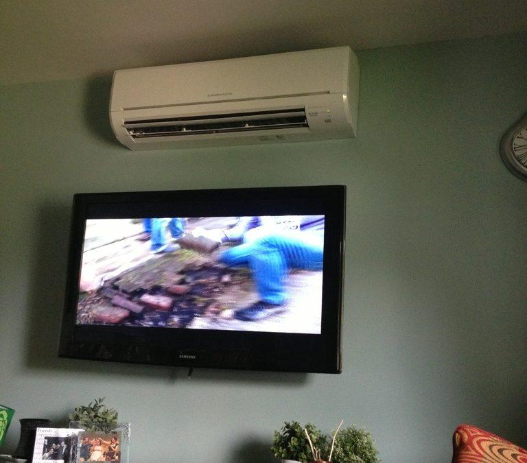 Ductless AC unit!