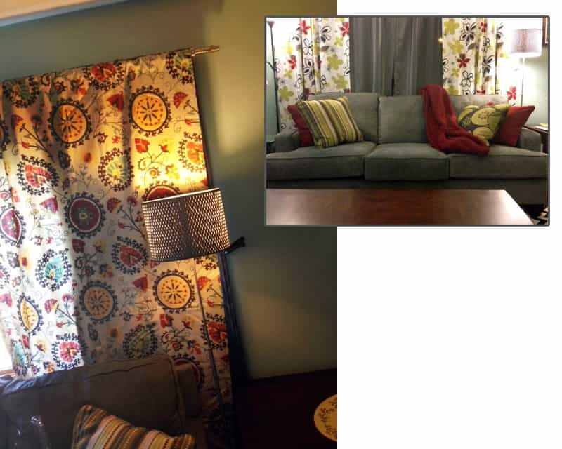 fall room decor curtains