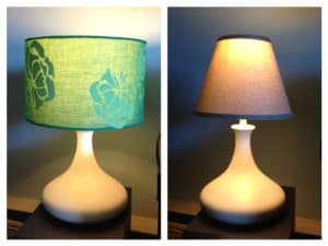 fall room decor lampshades