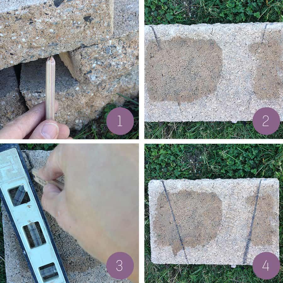 cut stone caps