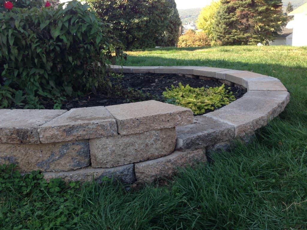 cut stone cap