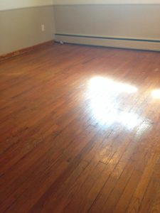 Hooray for oak flooring!