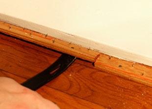 Removing Carpet To Reveal Hardwood
