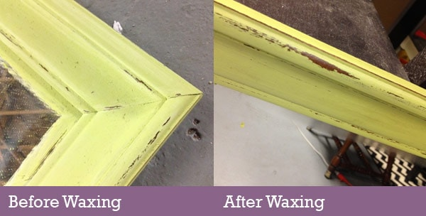 waxing after painting interior doors