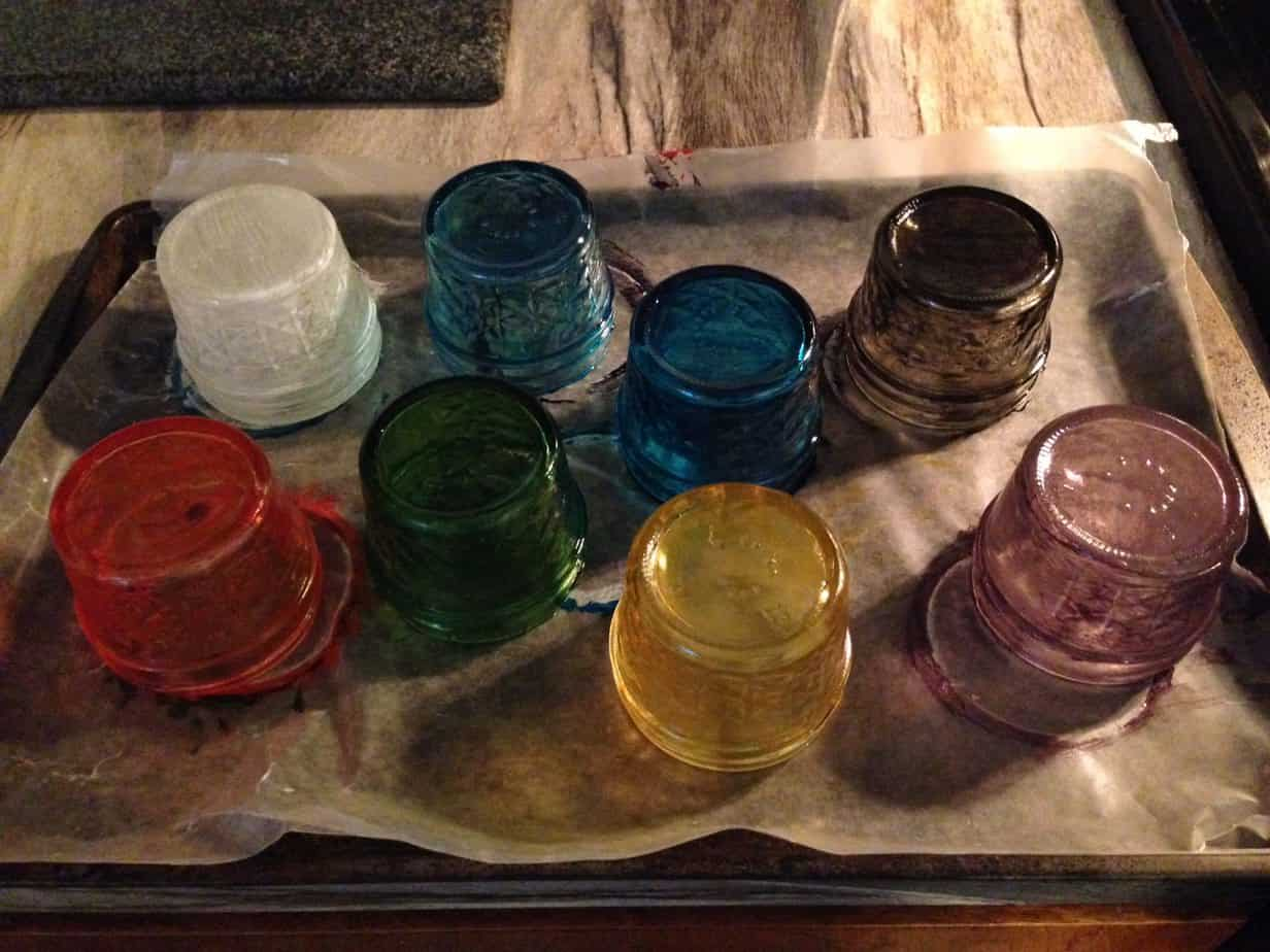 paint mason jars with vitrea 160 glass paint pretty