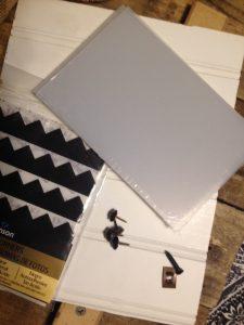 Rustic Pallet Frame Supplies, PrettyPurpleDoor.com