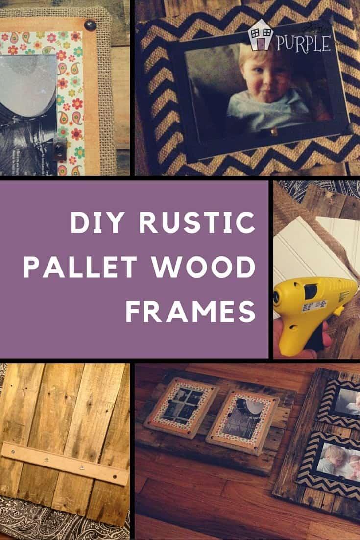 Reclaimed Wood Frames Pinterest Collage