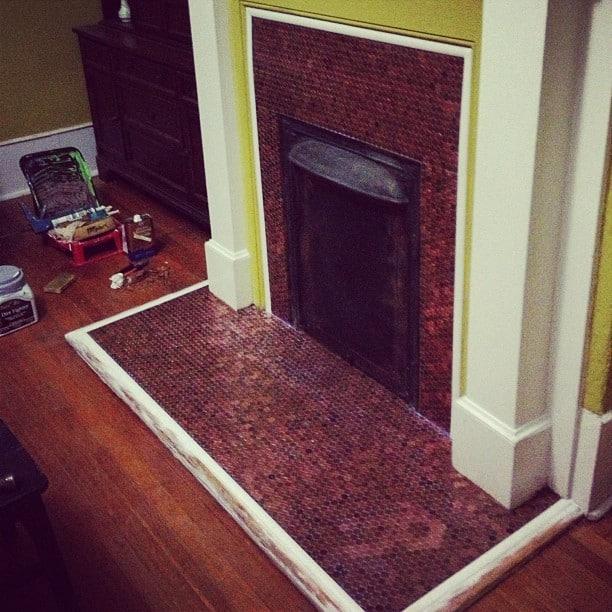 Cody's Penny Fireplace Surround