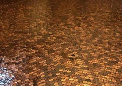 Danielle's Penny Floor