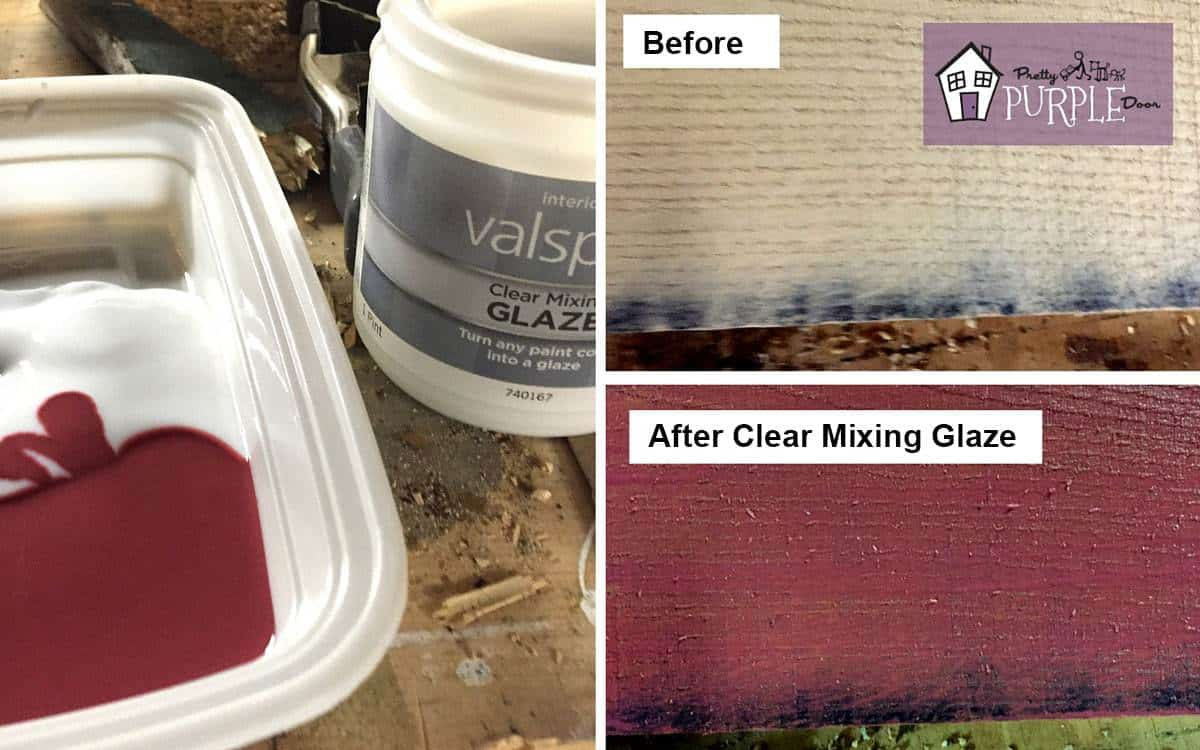 Mixing Wood Stains Staining Wood Any Paint Color You Want Pretty Purple Door
