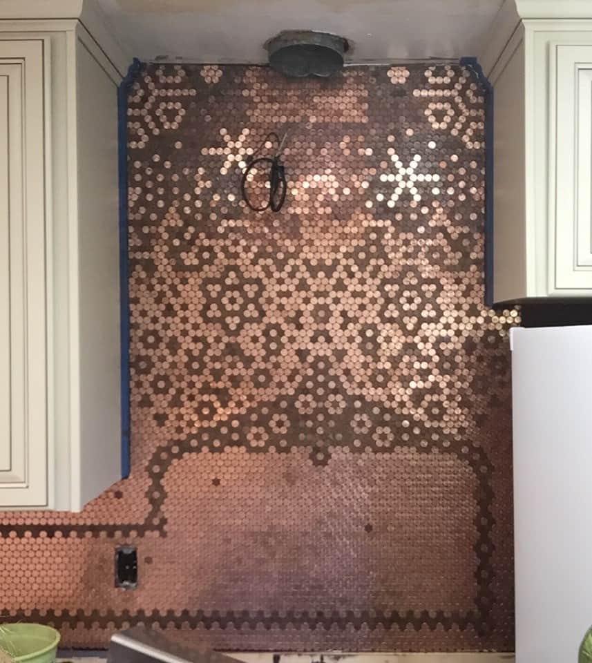 Penny Tile Kitchen