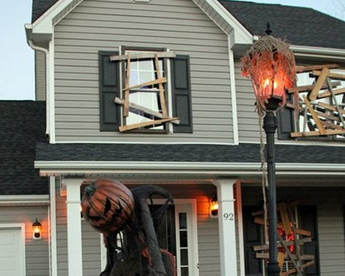Halloween Decorating Idea: Board Up Your Windows