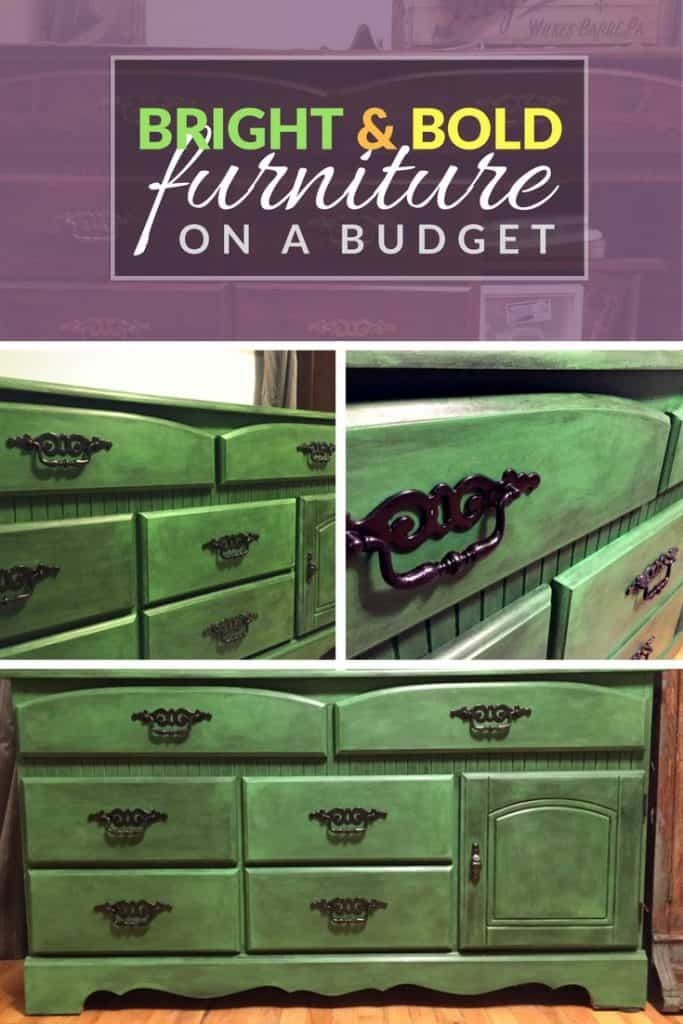 Bright & Bold Furniture on a Budget