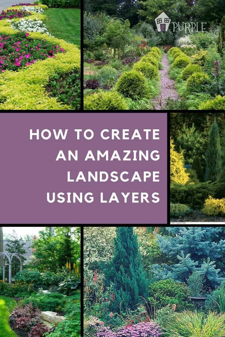 How to create an amazing landscape using layers | PrettyPurpleDoor.com