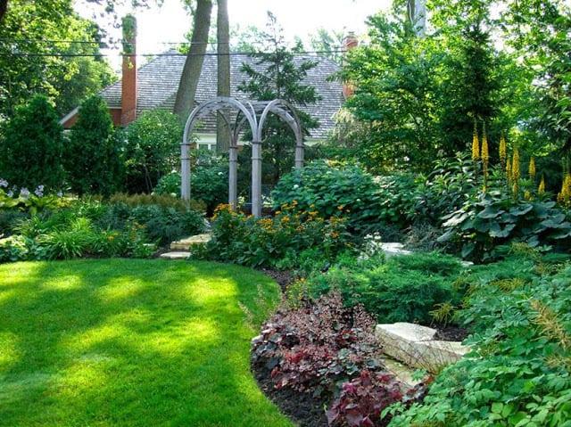 Landscape layering - Gilded Mint
