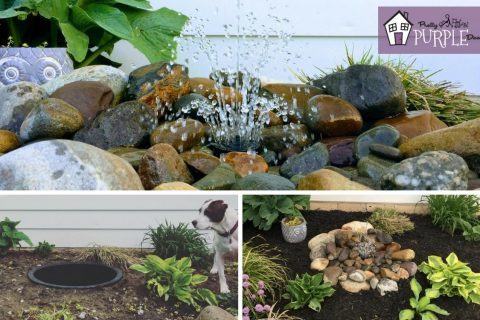 One of the Easiest (and coolest) DIY water features