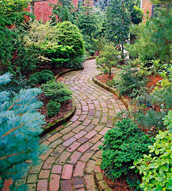 Brick paver walkway ideas