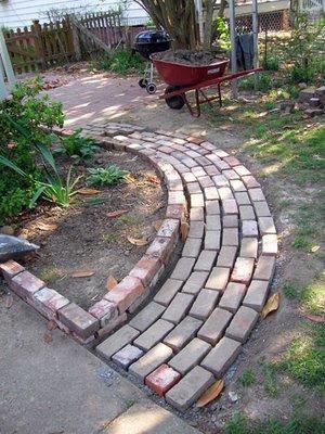 Brick paver walkway ideas