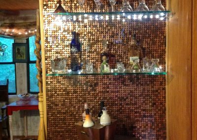 Lisa's super sleek penny bar