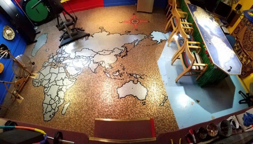 Rick's Penny Floor Map