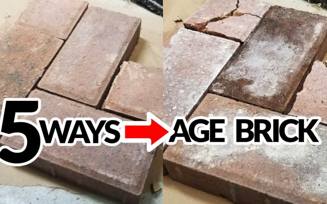 Non-Cheesy Faux Aged Brick – How To Make New Bricks Look Old