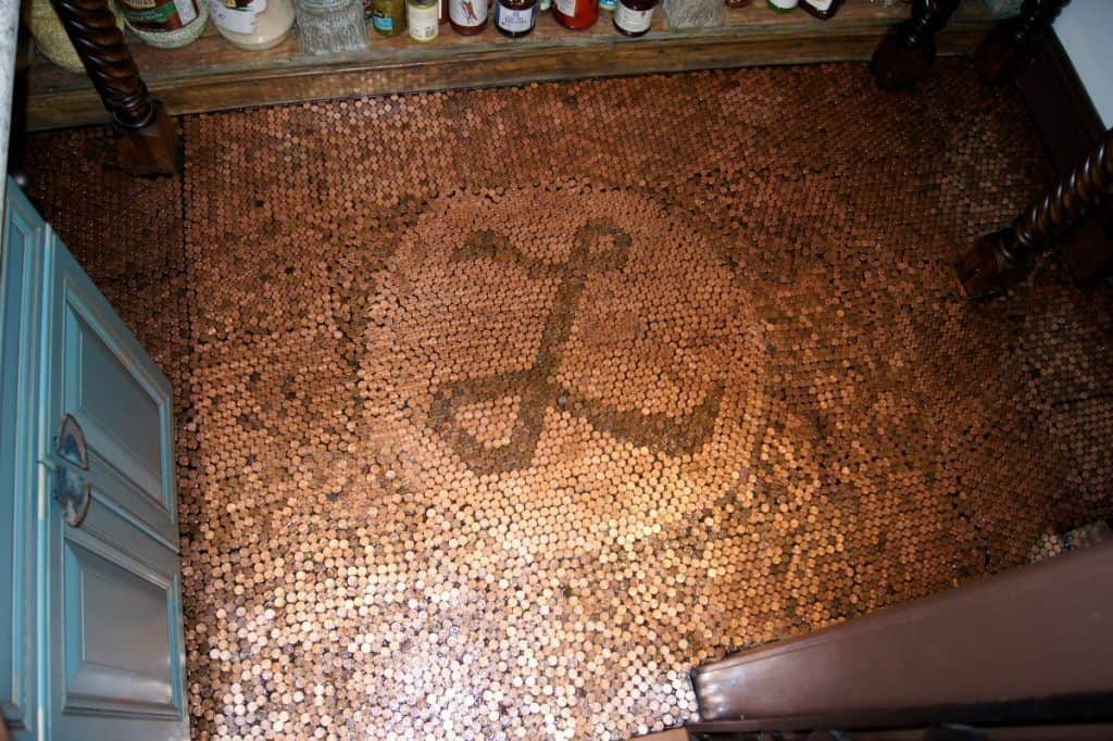 The Lincoln Room Penny Floor