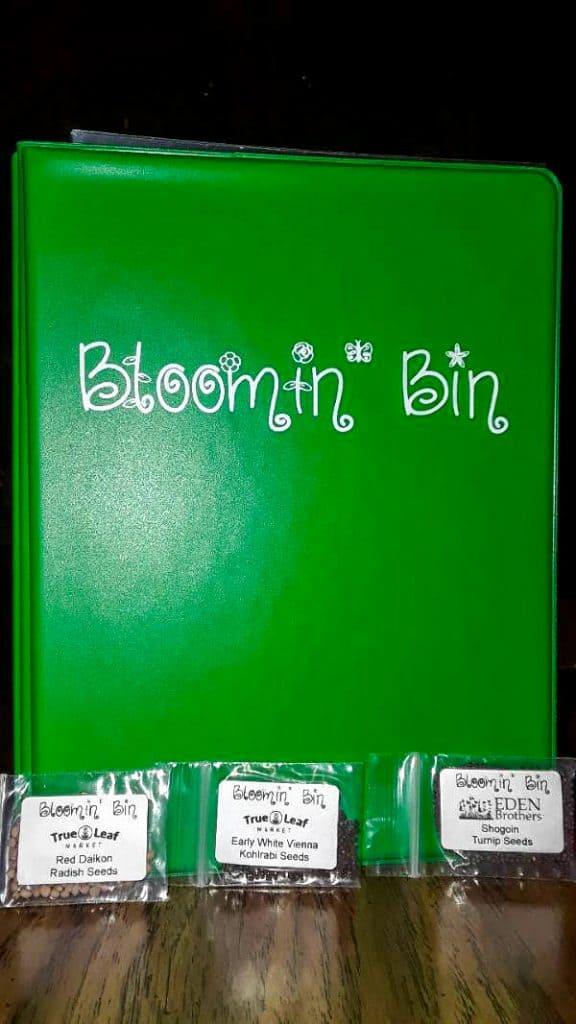 Bloomin bin plant subscription box