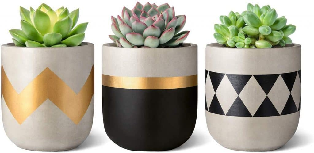 Decorate flower pots