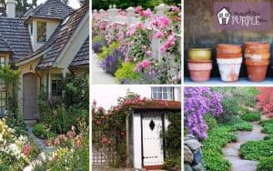 elements that make up country cottage garden style