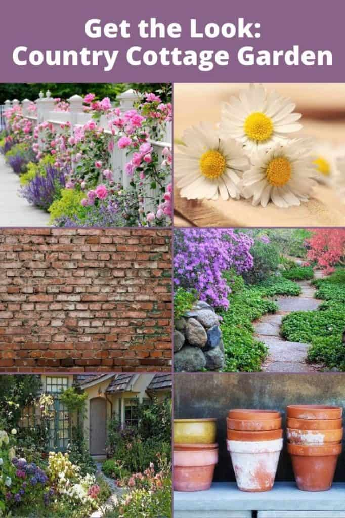 Country Cottage Garden Design Style