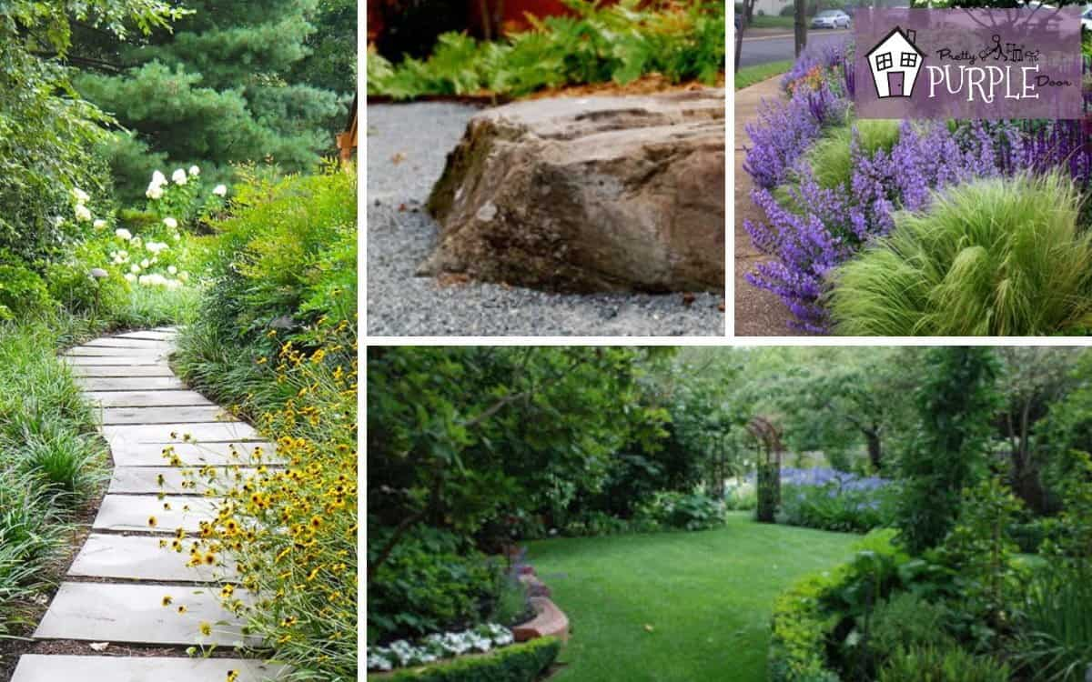 5 Ways To Create Unity And Flow In Your Landscape Pretty Purple Door