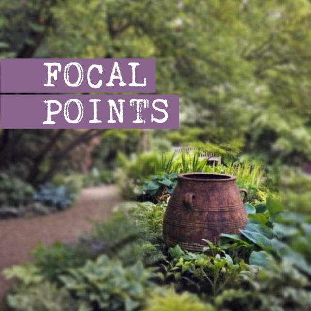Positioning Focal Points in the Garden