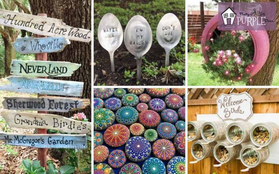 Garden Art Projects For Grownups Needing Creative Inspiration
