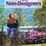 Garden Design For Non-Designers the Complete Guide - Woman with notebook sitting in landscape