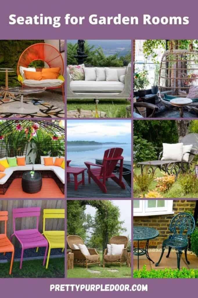 outdoor seating ideas for garden room