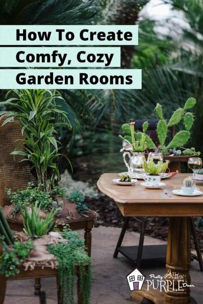 outdoor dining jungle garden room