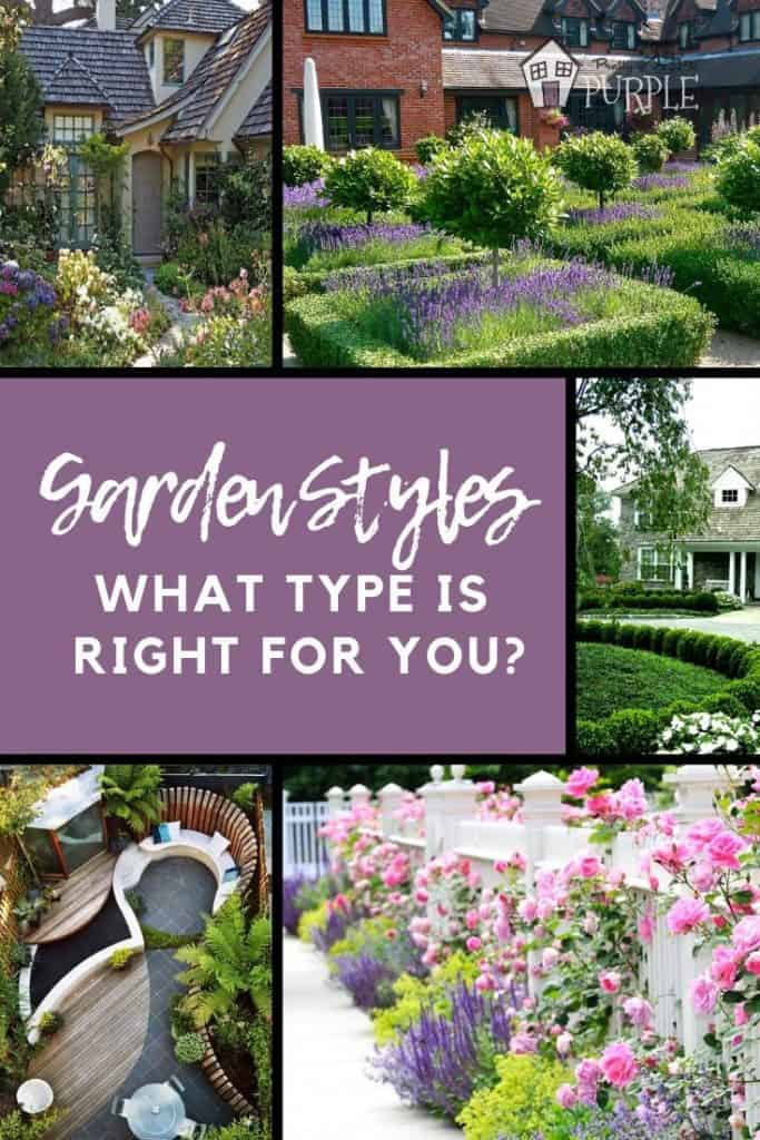 Garden Styles - What type is right for you?