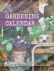 Custom Gardening Calendar Workbook Cover